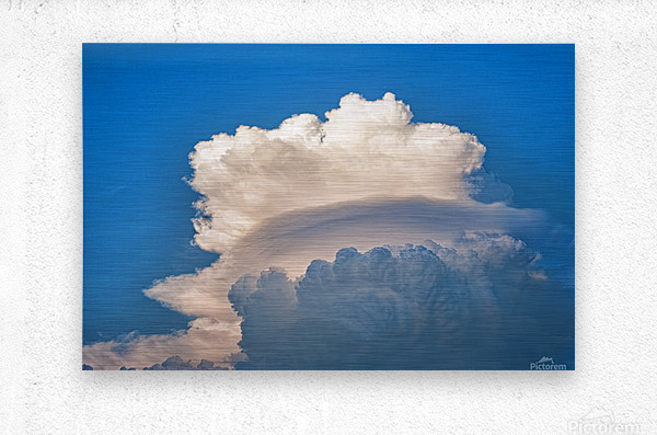 Atomic Cloud  Metal print