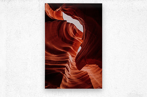 Antelope Canyon  Impression metal