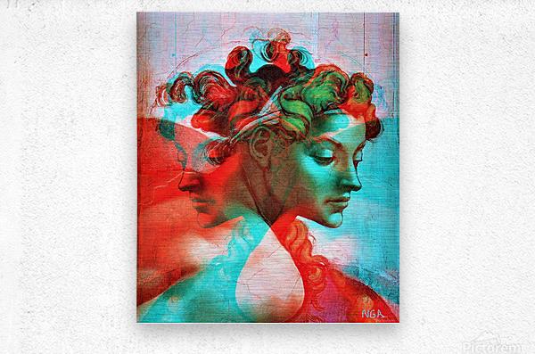 Messengers -   by Neil Gairn Adams  Metal print