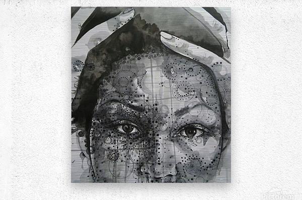 Love and Distress  Metal print