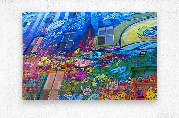 Torontos Graffiti Alley  16  Metal print