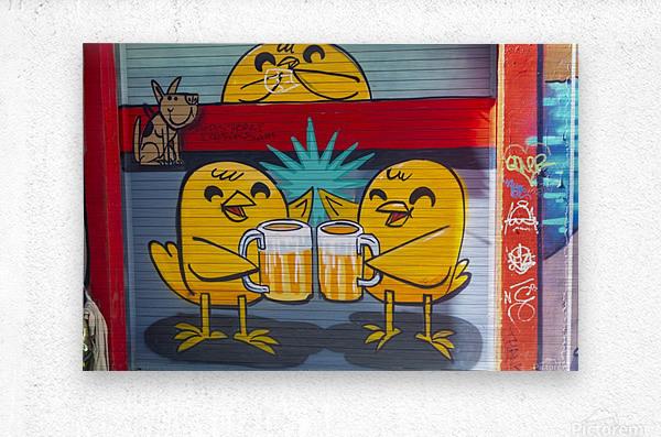 Torontos Graffiti Alley  61  Metal print