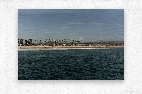 Newport Beach California  Impression metal