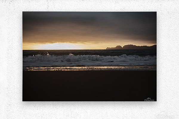 San Francisco Sunset  Metal print