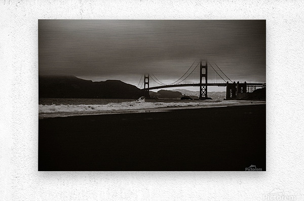 B&W Golden Gate  Impression metal