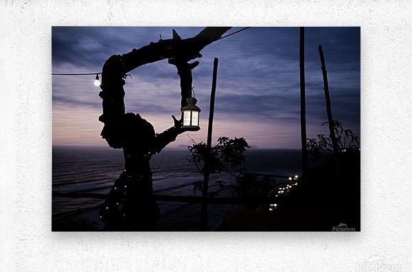 Lanterne de Lima  Impression metal