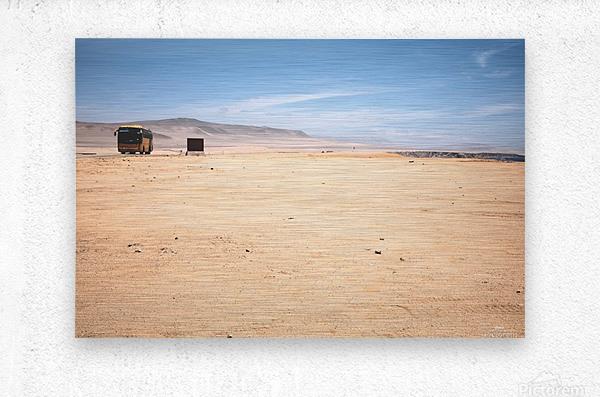 Reserva Nacional de Paracas  Impression metal
