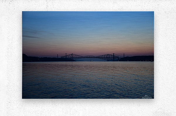 Le pont de Québec a 100 ans  Impression metal