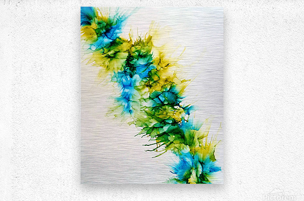 Blue Hawaii  Metal print