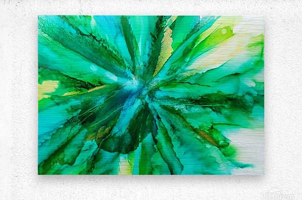 Mermaids Bouquet  Metal print