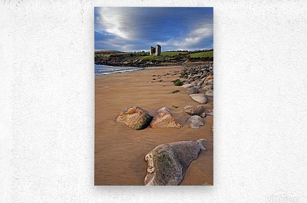 KY 218 Minard Castle  Metal print