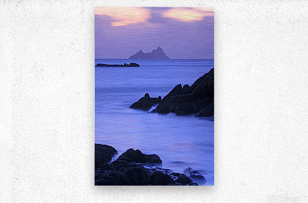 KY 281 Ballinskelligs Bay _1549666038.67  Metal print