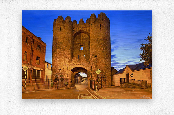 LH 034 St.Lawerence Gate  Metal print