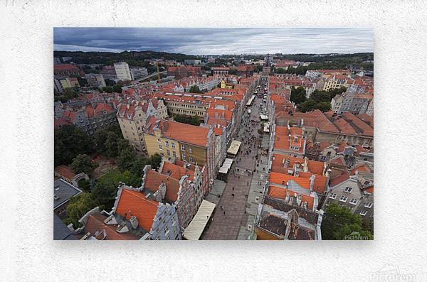 POL 012 Gdansk  Metal print