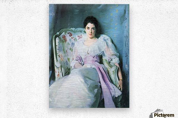 Lady Agnew by John Singer Sargent  Metal print