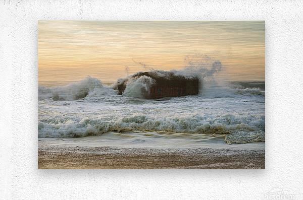 SEA BUNKERS   Metal print