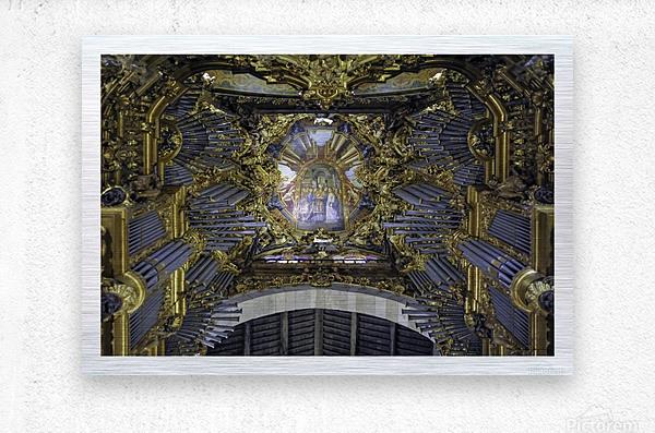 Braga - Portugal -Cathédrale Sé  Metal print