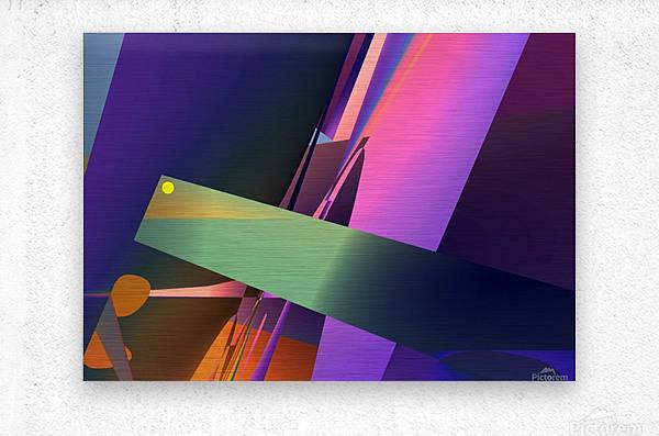 meditation 0214d26 19  Metal print
