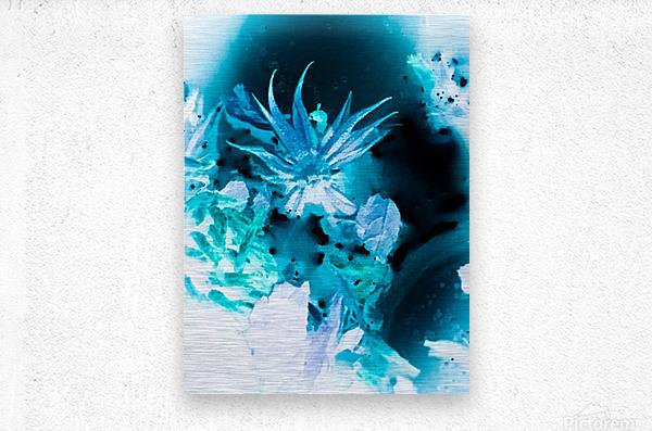 Bleu Bird Ingnite   Impression metal