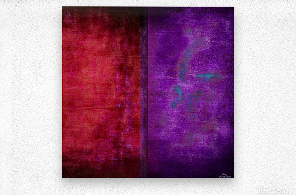 Dualities  Metal print