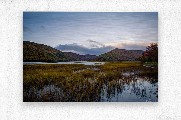 Ingonish valley   Metal print
