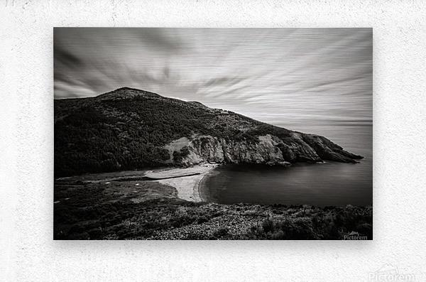 Fishing Cove  Metal print