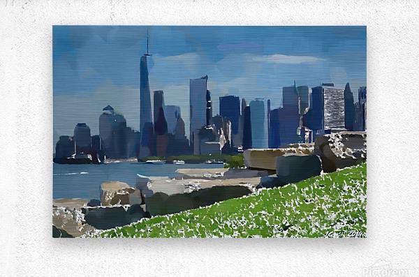 NEW YORK_View  031  Metal print
