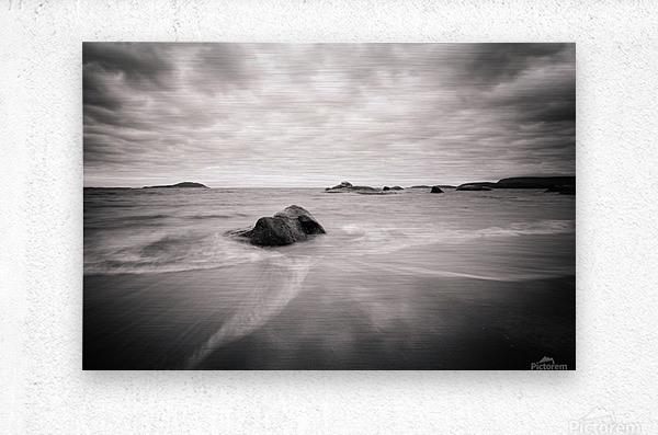 Peaceful Shore  Metal print