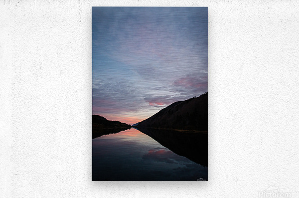 Blissful morning  Metal print