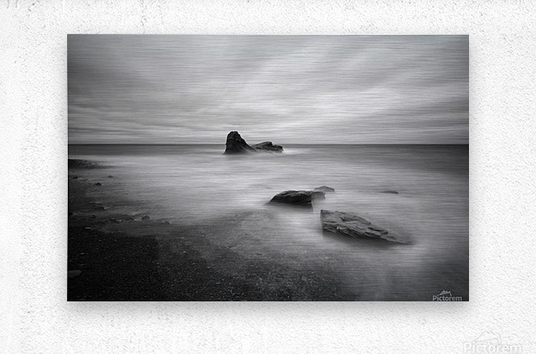 Mystic Rocks  Metal print