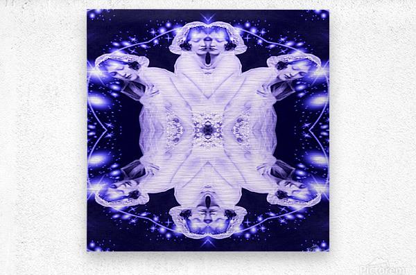 Ethereal  Metal print