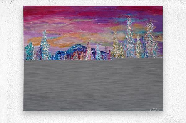 San Juan Mountains Colorado  Metal print
