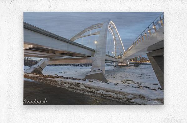 Walterdale_Bridge_NIK9885  Metal print