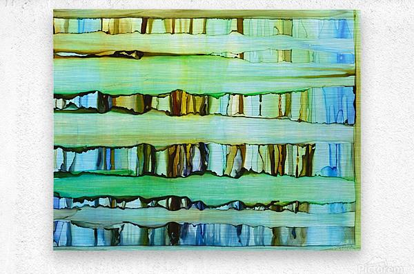 Between the Lines 2  Metal print