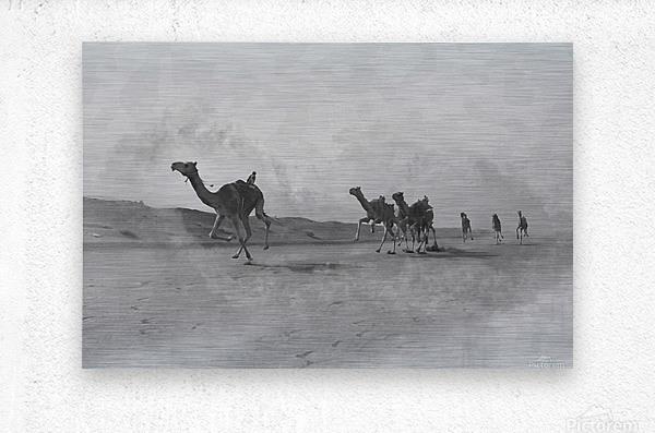 oman and traditional   Metal print