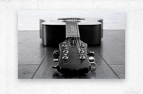 Gibson Guitar  Impression metal