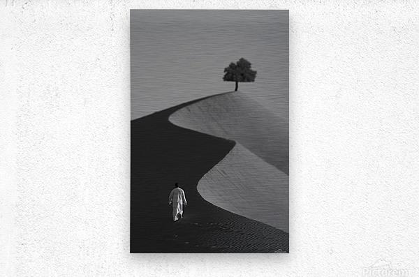 The Omani Desert  Metal print