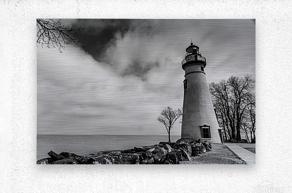 Marblehead Lighthouse 1  Metal print