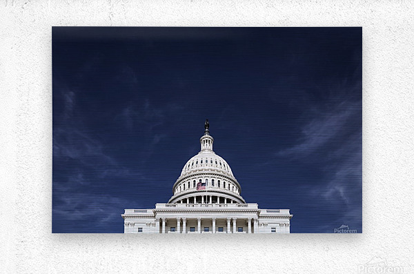 United States Congress  Metal print