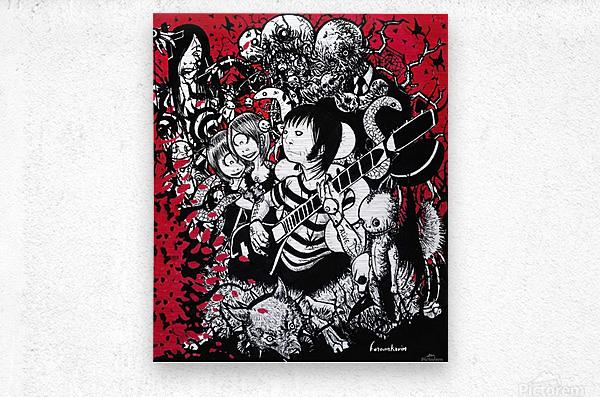 Dancing Days   Metal print