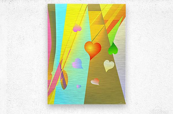 love bond 82918 H  Metal print