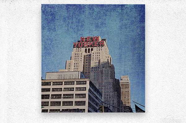 new york med  Metal print