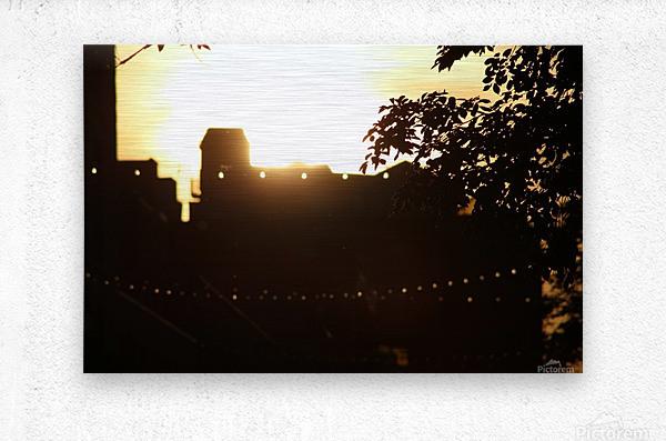Montreal Sunset  Metal print