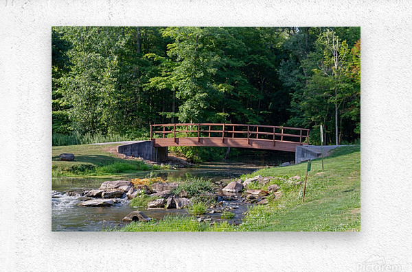 Holley Erie Canal Falls 5  Metal print