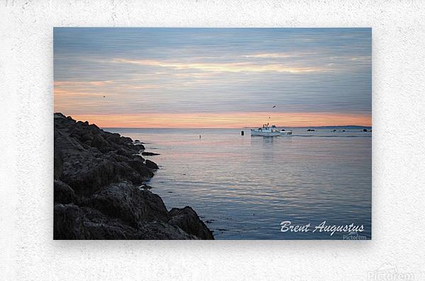 Sunrise Bay  Metal print