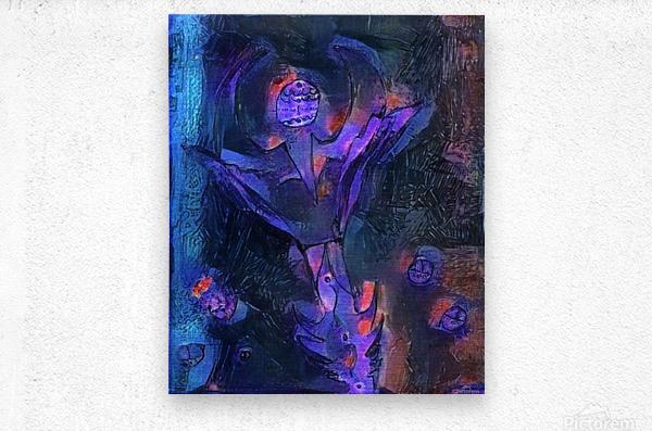Alien Flower  Metal print