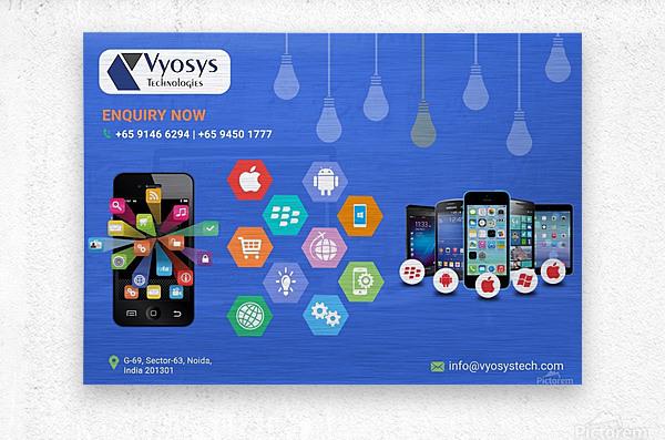Android App Development Company In Noida  Metal print