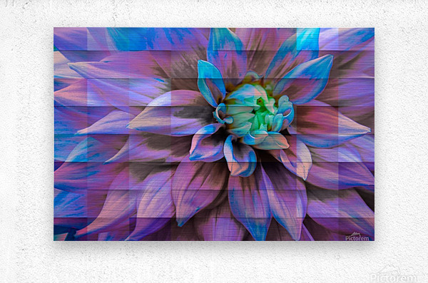 Avatarian Flower   Metal print