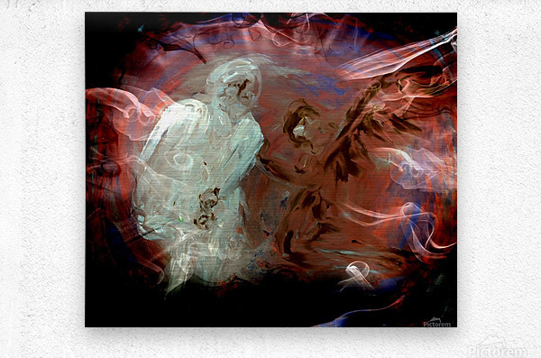 Bens Angel 10  Metal print
