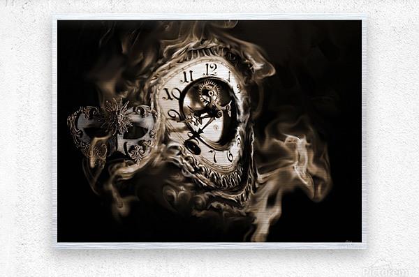 Father Time  Metal print
